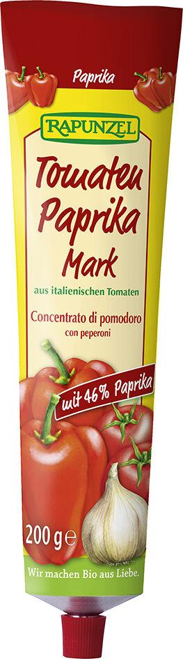 Bio rajčatovo-paprikový protlak RAPUNZEL 200 g