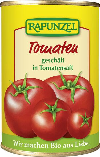 Bio rajčata loupaná RAPUNZEL 400 g