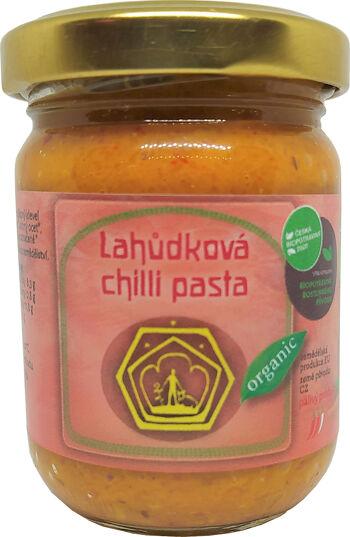 Bio lahůdková chilli pasta Svobodný statek na soutoku 120 g
