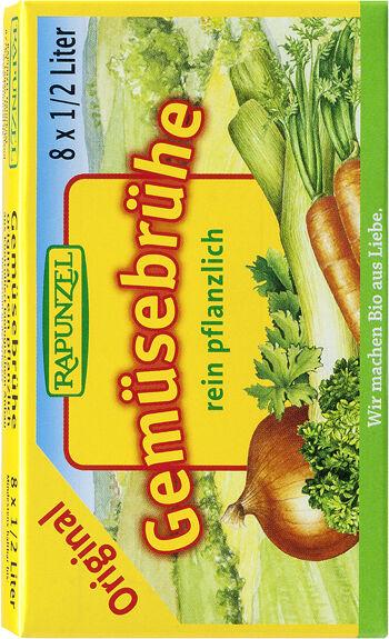 Bio zeleninový vývar v kostce RAPUNZEL 8 ks