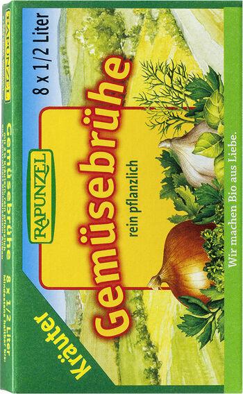 Bio zeleninový vývar bylinkový v kostce RAPUNZEL 8 ks