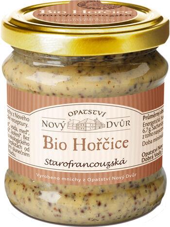Bio starofrancouzská hořčice 195 g