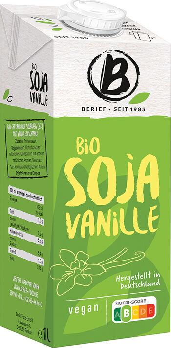 Bio sójový nápoj Vanilka BERIEF 1 l