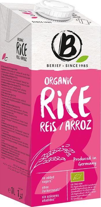Bio rýžový nápoj Natur BERIEF 1 l