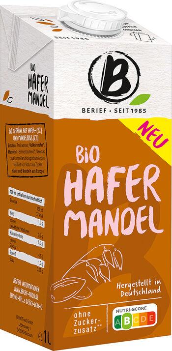 Bio ovesno-mandlový nápoj BERIEF 1 l
