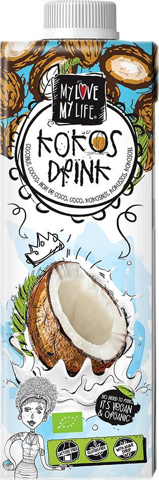 Bio kokosový nápoj se sirupem z agáve My Love My Life 750 ml