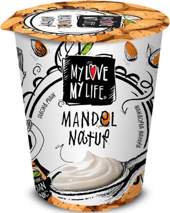 Bio zakysaný mandlový bílý My Love My Life 125 g