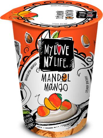 Bio zakysaný mandlový Mango My Love My Life 180 g