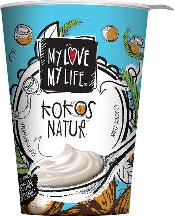 Bio zakysaný kokosový bílý My Love My Life 125 g
