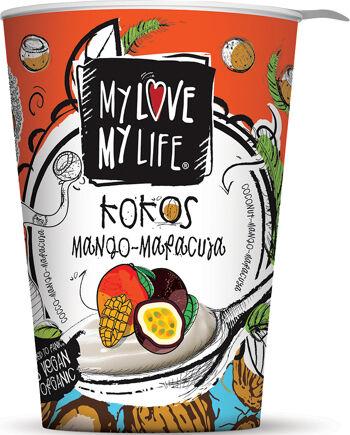 Bio zakysaný kokosový Mango Marakuja My Love My Life 180 g
