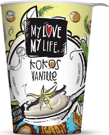 Bio zakysaný kokosový Vanilka My Love My Life 180 g