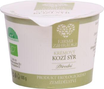 Bio kozí sýr krémový Farma Zahrádka 100 g