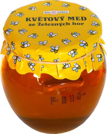 Květový med ze Železných hor bio*nebio 650 g