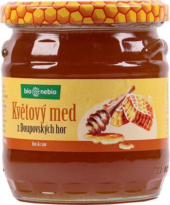 Bio květový med z Doupovských hor ČESKÉ BIO 500 g