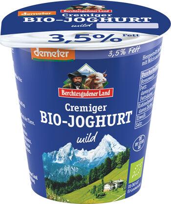 Bio bílý jogurt krémový 3,5 % tuku, demeter BGL 150 g
