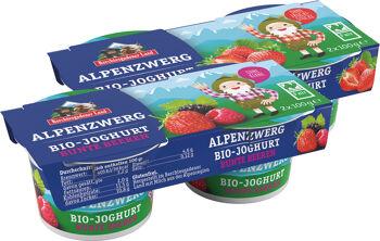 Bio dětský jogurt MIX A (jahoda, lesní plody) BGL 4 x 100 g