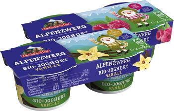 Bio dětský jogurt MIX B (malina, vanilka) BGL 4 x 100 g