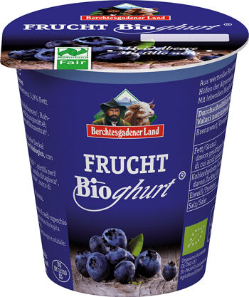 Bio borůvkový jogurt BGL 150 g