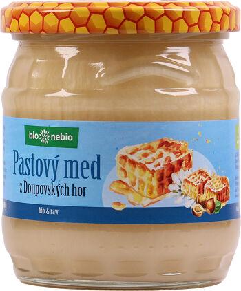 Bio pastový med z Doupovských hor ČESKÉ BIO 500 g