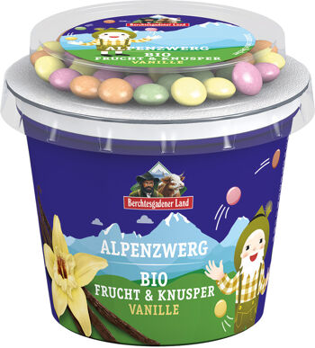 Bio vanilkový jogurt s čokoládovým dražé BGL 137 g