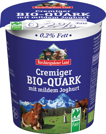 Bio krémový tvaroh 0,2 % tuku BGL 350 g