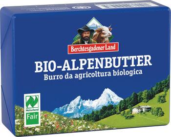 Bio čerstvé alpské máslo BGL 250 g