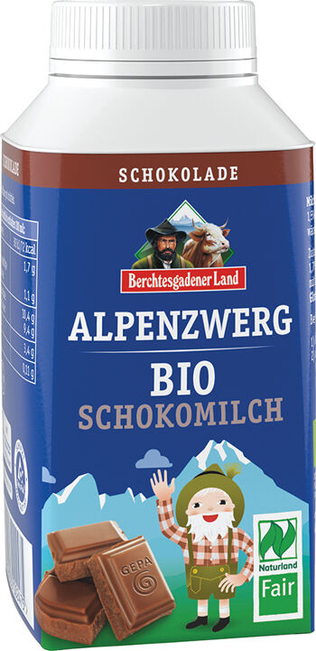 Bio čokoládové mléko BGL 236 ml