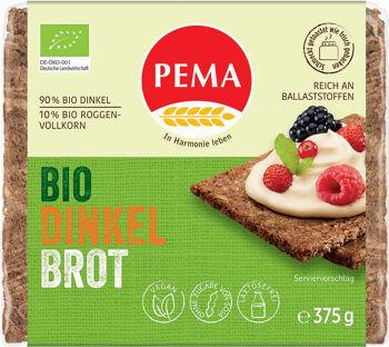 Bio špaldový chléb PEMA 375 g