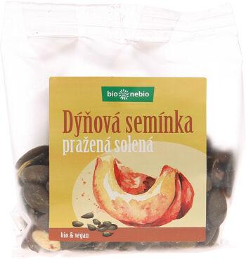 Bio dýňová semínka pražená solená bio*nebio 100 g