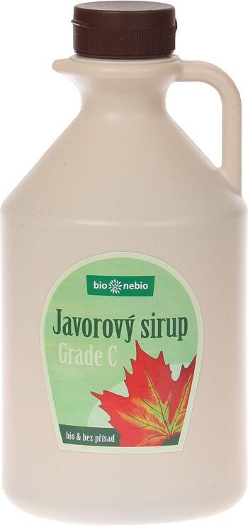 Bio javorový sirup 100% Grade C bio*nebio 1l