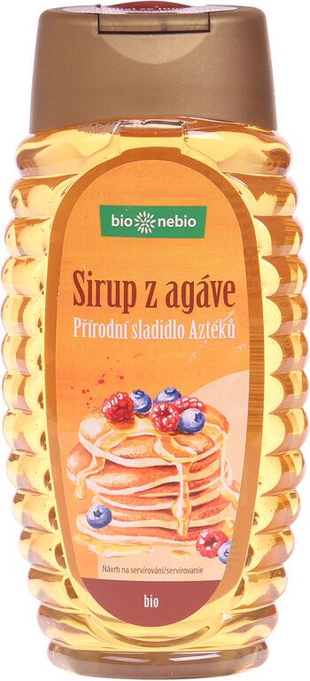 Bio sirup z agáve světlý bio*nebio 360 ml