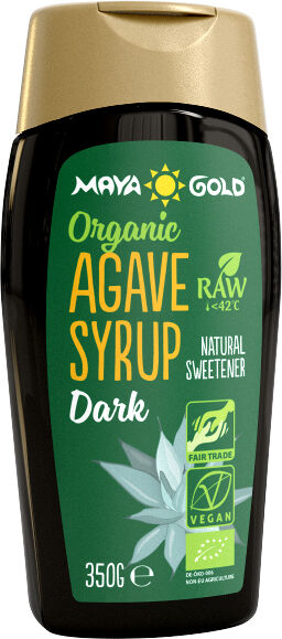Bio sirup z agáve tmavý Maya Gold 250 ml