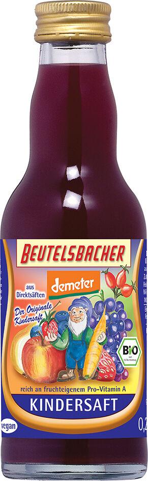 Bio KINDER šťáva 100% Beutelsbacher 0,2 l