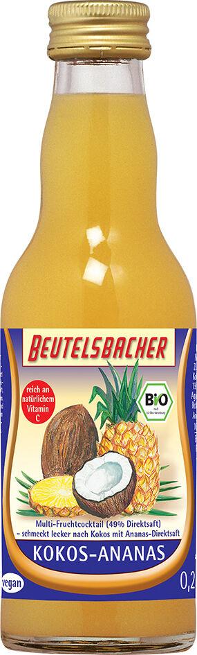 Bio kokosovo-ananasový nápoj Beutelsbacher 0,2 l