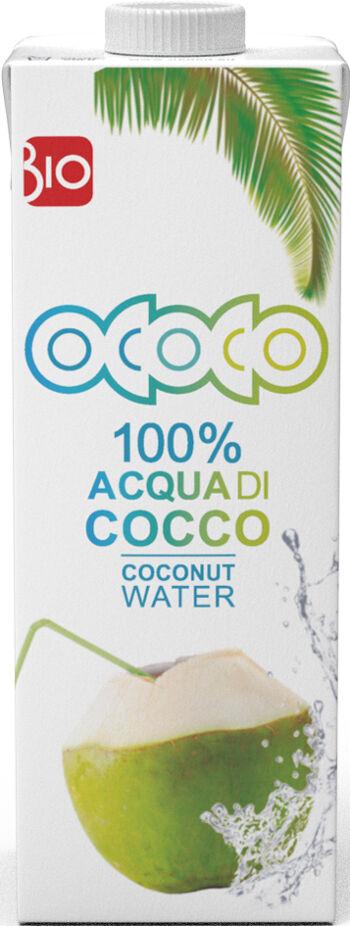 Bio kokosová voda 100% OCOCO 1 l