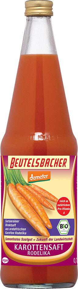 Bio mrkvová šťáva Rodelika Beutelsbacher 0,7 l
