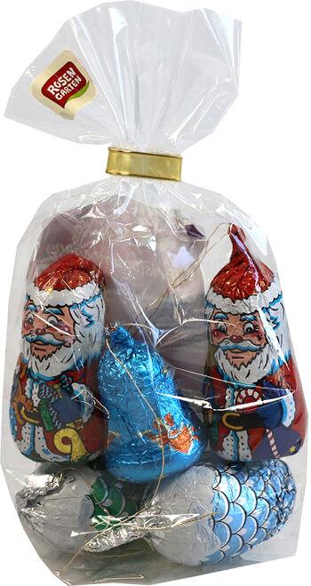 Bio vánoční balíček z mléčné čokolády Rosengarten 62,5 g