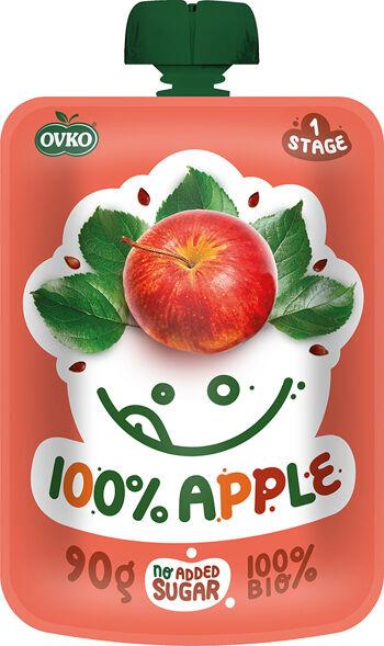 Bio kapsička 100% jablko OVKO 90 g