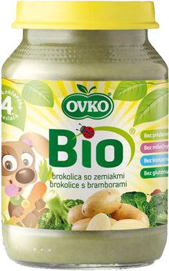 Bio brokolice s bramborami OVKO 190 g