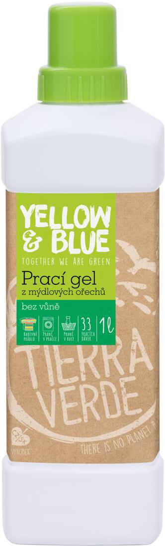 Prací gel z bio mýdlových ořechů 1 l