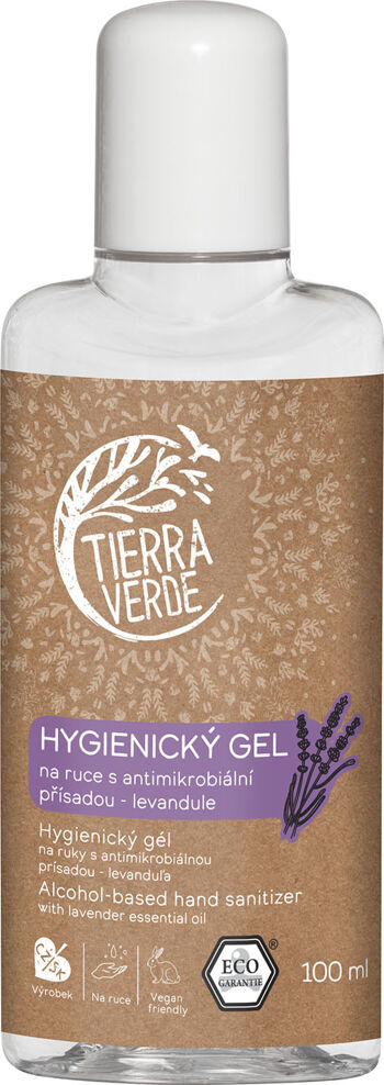 Hygienický gel na ruce Levandule Tierra Verde 100 ml