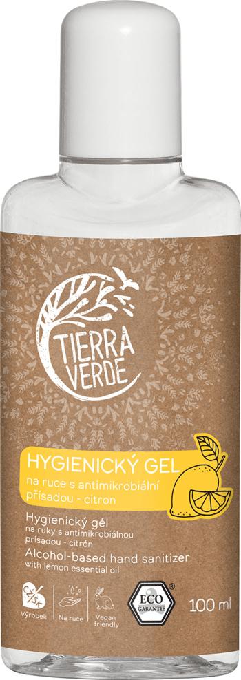 Hygienický gel na ruce Citron Tierra Verde 100 ml