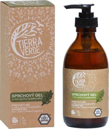 Sprchový gel s vůní vavřínu kubébového Tierra Verde 230 ml