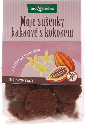 Bio MOJE SUŠENKY kakaové s kokosem bio*nebio 130 g