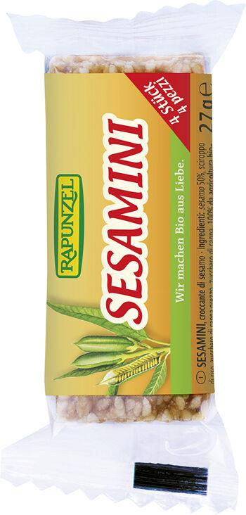 Bio SESAMINI – sezamové plátky RAPUNZEL 27 g