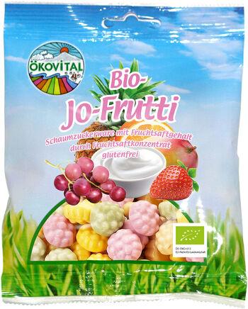 Bio pěnové cukrovinky JO-FRUTTI ÖKOVITAL 80 g