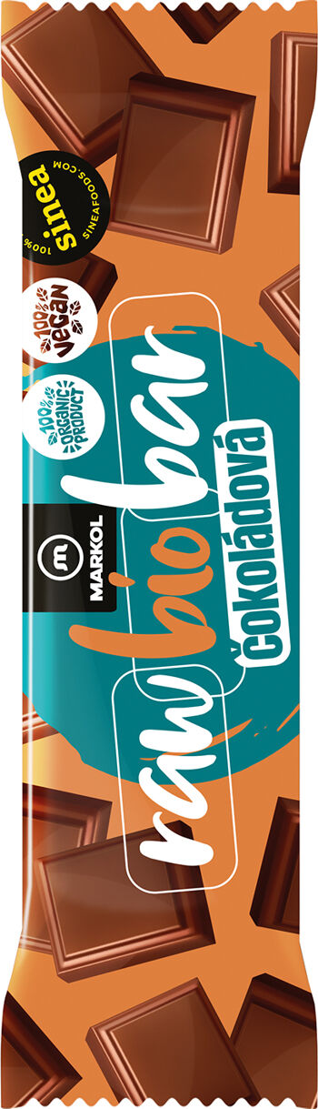 Bio raw tyčinka čokoládová Markol 40 g