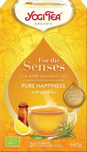 Bio Pro smysly - Čiré štěstí Yogi Tea 20 x 2,2 g