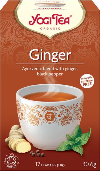 Bio Zázvor Yogi Tea 17 x 1,8 g