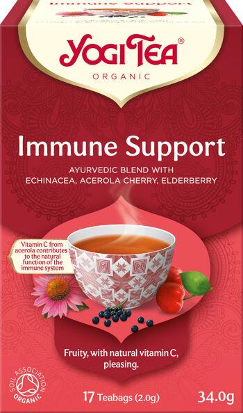 Bio Podpora imunity Yogi Tea 17 x 1,8 g